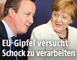 David Cameron und Angela Merkel