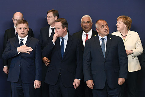 Eindrücke vom EU-Gipfel