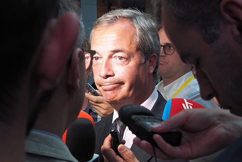 UKIP-Chef Nigel Farage