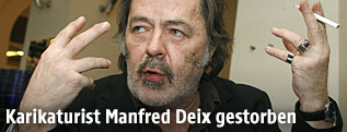 Maler und Cartoonist Manfred Deix