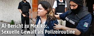 Frau wird in Mexiko festgenommen