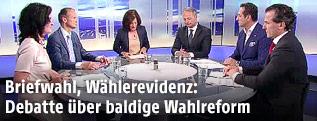 Parteivorsitzende im ORF-Studio