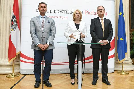 Präsidentschaftskandidat Norbert Hofer
