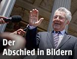 Eindrücke von der Verabschiedung von Bundespräsident Heinz Fischer