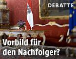 Amtsräume des Bundespräsidenten in der Hofburg