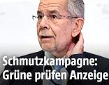 Bundespräsidentschaftskandidat Van der Bellen