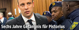 Den ehemalige südafrikanische Sportstar Oscar Pistorius