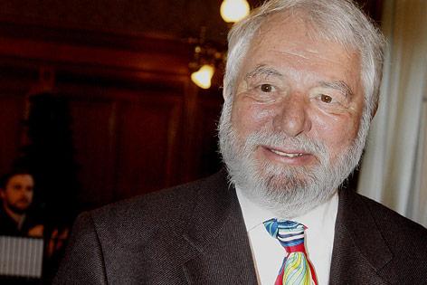Gastrokritiker und Autor Wolfram Siebeck
