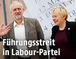Jeremy Corbyn und Angela Eagle