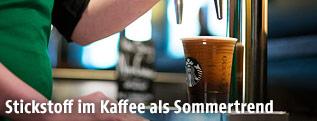 """""""Nitro Kaffee"""" aus dem Zapfhahn"""