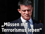 Frankreichs Premier Manuel Valls