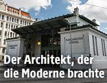 Die Ubahn-Station Margaretengürtel von Architekt Otto Wagner