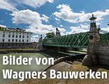 Bauwerk von Architekt Otto Wagner