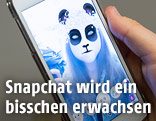 Snapchat Pandagesicht