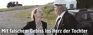 "Szene aus dem Film ""Toni Erdmann"""