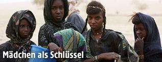 Mädchen aus Niger