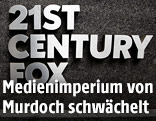 Firmenschild von 21st Century Fox