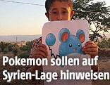 Kind mit Pokemon-Figur