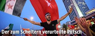 Pro-Erdogan-Proteste in Istanbul