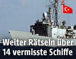 Türkisches Kriegsschiff