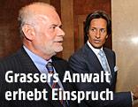Anwalt Manfred Ainedter und Ex-Finanzminister Karl-Heinz Grasser