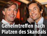 Karl-Heinz Grasser und Walter Meischberger