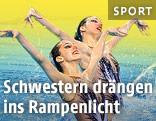 Synchronschwimmerinnen Eirini-Marina und Anna-Maria Alexandri