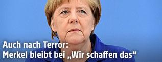Angela Merkel, deutsche Kanzlerin