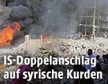 Anschlag in der syrischen Stadt Kamischli