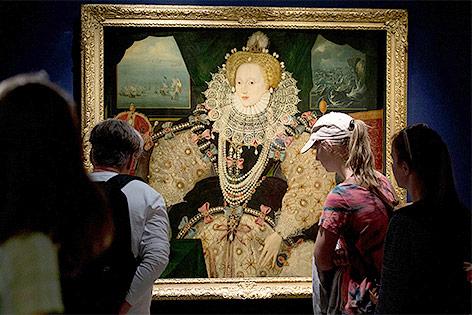Portät von Queen Elizabeth I.