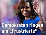 Michelle Obama am demokratischen Parteitag in Philadelphia