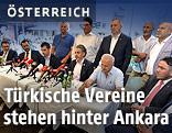 Österreichisch-Türkische Demokratieplattform während der Pressekonferenz
