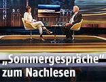 ORF-Moderatorin Susanne Schnabl im ersten Sommergespräch mit Frank Stronach