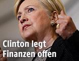 Präsidentschaftskandidatin der US-Demokraten, Hillary Clinton