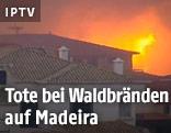 Brand auf Madeira