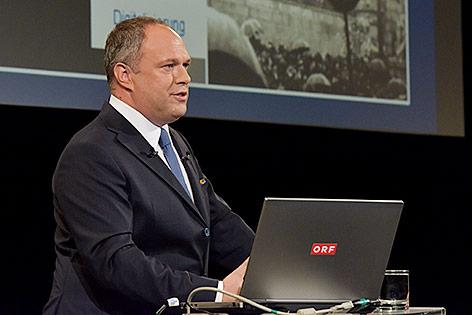 Kaumännischer Direktor des ORF, Richard Gras