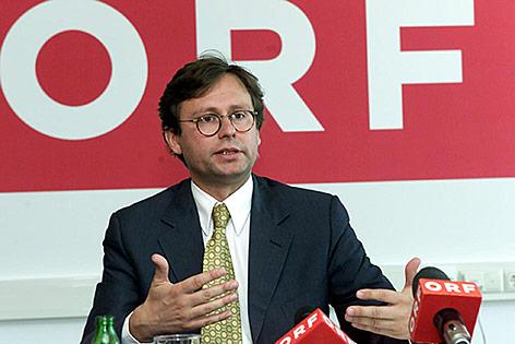 Alexander Wrabetz im Jahr 1999 als Kaufmännischer Direktor des ORF