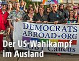 Mitglieder von Democrats Abroad Österreich