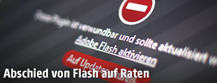 Flash-Warnung