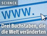 www. und Curser auf Bildschirm