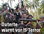 Islamistische Rebellen auf den Philippinen