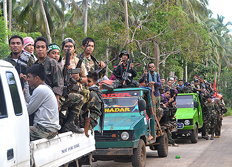 MNLF-Rebellen in Mindanao
