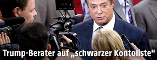 US-Wahlkampfmanager Paul Manafort
