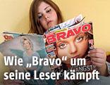 """Mädchen liest """"Bravo"""""""