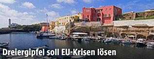 Die italienische Insel Ventotene