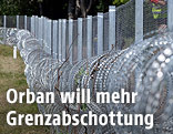 Ungarischer Grenzzaun