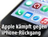 iPhone in Nahaufnahme