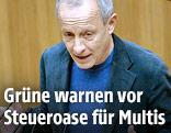 Grünenpolitiker Peter Pilz
