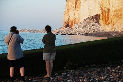 Steilküste in Normandie