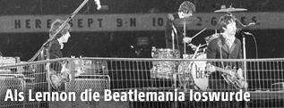 Eindrücke vom Beatles Konzert im Candlestick Park, San Francisco